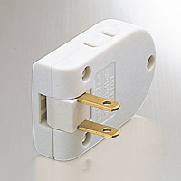 Power Strip, 2 Sockets, Lightening Surge Compatible