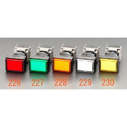LED Illuminated Square Type Push Button Switch EA940D-229