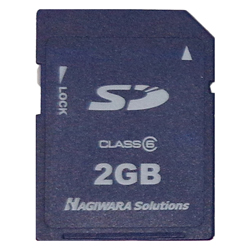 Industrial SD Card (product can be connected to Mitsubishi sequencer)