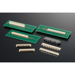 High Speed Transmission Compatible Connector for 0.5 mm Pitch Board-to-Board 4 to 5 mm Connection, FX10 Series