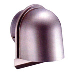 Louver with U-Shaped Hood