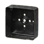 Studlet Box (iron outlet box with 3-part stud)