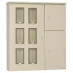 SSHO-A / Stainless Steel Outdoor Multi-Device Meter Panel Cabinet