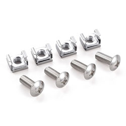 Cage Nut/Screw Set (× 50 pieces)