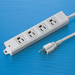Power Strip, for Construction Use, 4 Outlets