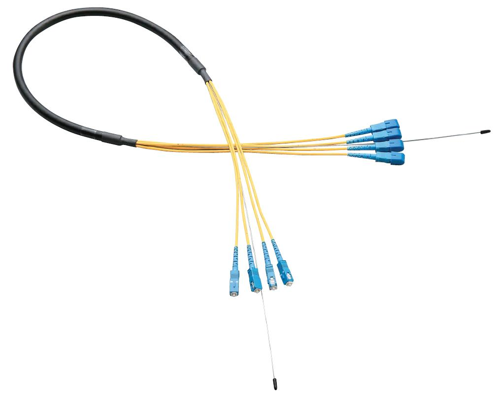 Optical Fiber Cable, Cord Gathering, Outdoor Use, Single Mode