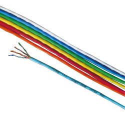 LAN cable Cat5e UTP (single line)