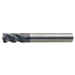 Carbide 4-Flute Variable Split Variable Lead End Mill 38°/41° E141-2.0HX