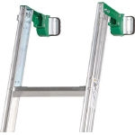 Extendable Leg 2 Part Ladder with External/Internal Wall Corner Brackets