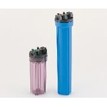 Resin Filter Housing (Transparent/Blue)