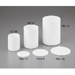 PTFE Cylindrical Container