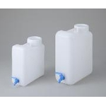 Flat Wide Mouth Vial with Plug Volume 10 L / 20 L Body: HDPE (High density polyethylene)