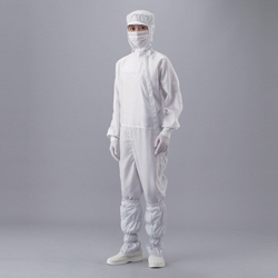 ASPURE Clean Suit (Separate Hood / Side Fastener Type) without Pocket