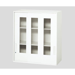 Chemical Resistant Storage Cabinet, White 900x450x1030 mm