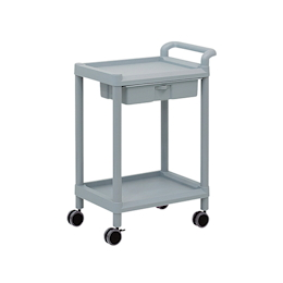 Mobile Storage Cart 2 Stages 598 x 368 x 839 (Including Drawer, Handle)