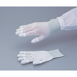 ASPURE Conductive Line Gloves Fingertip Coat M 10 Pair