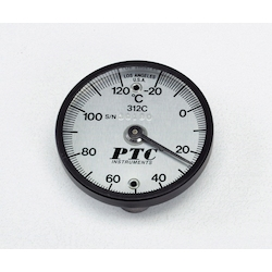 Bimetal Surface Thermometer TMS50-120 without Low Temperature, High Temperature Each Display Needle