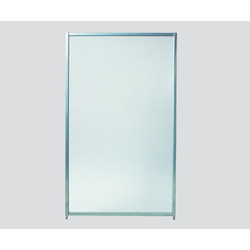 Partition ( Magnetic Connection Type) 600 x 20 x 1525mm Clear Frost