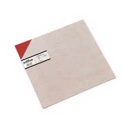PVC Plate 2x300x300 mm Red