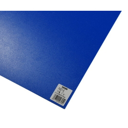 PP Sheet Blue 485x570x0.75 mm