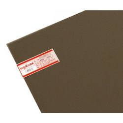 Polycarbonate Panel 450 x 600 x 3 mm, Brown Smoke