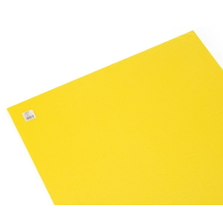Color Foam 910 x 600 mm Yellow