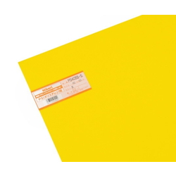 PS Plate 450 x 600 x 0.5 mm Yellow
