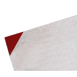 PVC Plate 1x1800x910 mm Red