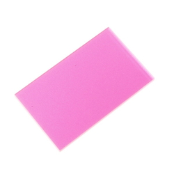 Acrylic Square 50 × 30 × 2 mm Fluorescent P