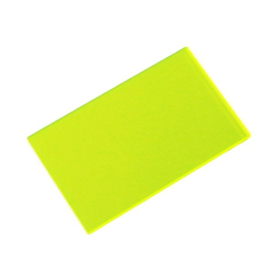 Acrylic Square 50 × 30 × 2 mm Fluorescent