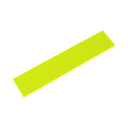 Acrylic Square 150 × 30 × 2 mm Fluorescent G