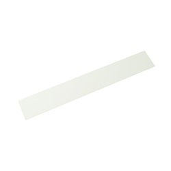 Acrylic Rectangle 200x30x2 mm White