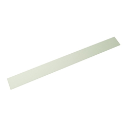 Acrylic Rectangle 300x30x2 mm White