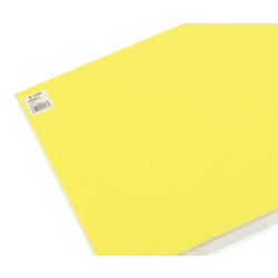 Color Board 300 x 450 mm Yellow