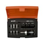 BAHCO, 22-Piece Stubby Ratcheting Screwdriver Set