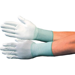 Polyurethane Palm Coated Work Gloves (Long Type/10 Pcs)