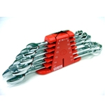 6 Pair Combi Wrench Set in PC Case