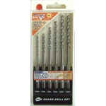 Concrete Drill blade set (6 pieces)