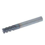 Super One-Cut End Mill DZ-SOCS4 Type (Regular Blade Length) (With Rounded Corners) (Slim Shank)