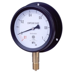 MPP Plastic Closed Pressure Gauge, Rounded Edge Type (B)