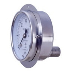 UST All Stainless Steel Pressure Gauge, Embedded Type (D)