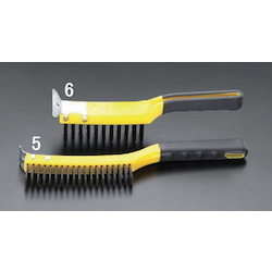 Steel Wire Brush With Soft Grip EA109BA-6