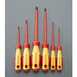 (+)(-) Insulated Screwdriver Set EA560KB