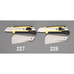 Cutter Knife (With Replacement Blade 10 Pcs) EA589AT-228