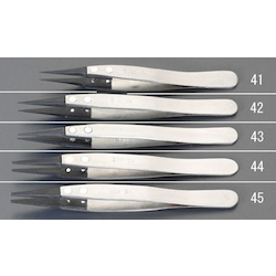 [ESD/Stainless Steel] Tweezers EA595AR-42