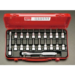 "(3/8"") Hex , TORX Bit Socket Set EA618B-30"