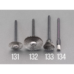 Hi Speed Stainless Spiral Brush with Shaft (3mm) EA819AJ-133