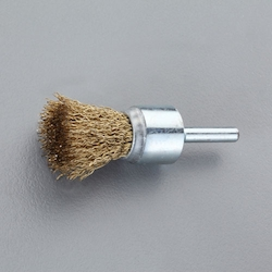 End type Wire Brush with Shaft (6mm Shaft) EA819BM-105