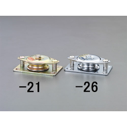 (Stainless Steel) Horizontal Type Fixed Pulley(1 Wheel) EA987HS-26