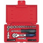 Screwdriver & Socket Wrench Set